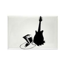 guitar amp stylized black Magnets