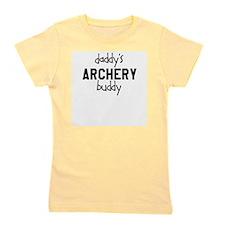 Daddys Archery Buddy Girl's Tee