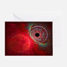Abstract 760 Greeting Card