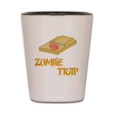 3-ZombieTrap Shot Glass