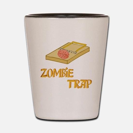 3-ZombieTrap Shot Glass