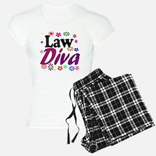 lawdiva black1 Pajamas