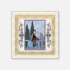 "Keepsake-7 July Barbieri-Lo Square Sticker 3"" x 3"""