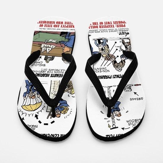 Corporate Twit of the Year Final Flip Flops
