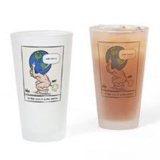 Atlas Farted Drinking Glass