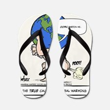 Atlas Farted Flip Flops