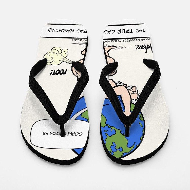 Atlas Farted Flip Flops