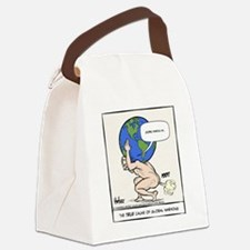 Atlas Farted Canvas Lunch Bag