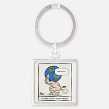 Atlas Farted Square Keychain