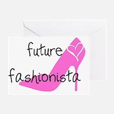 FUTUREFASHIONISTA Greeting Card