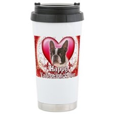 Happy Valentines Day Boston Ter Travel Mug