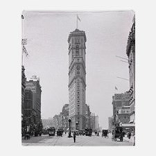 Times Square, 1908 Throw Blanket
