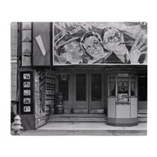 Liberty Theatre in New Orleans, 1935 Throw Blanket