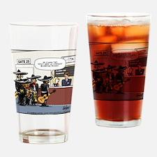 No Stinking Boarding Passes Drinking Glass