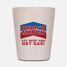 pump n munch Shot Glass