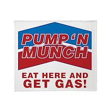 pump n munch Throw Blanket