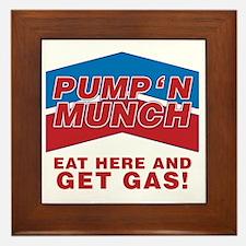 pump n munch Framed Tile