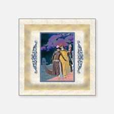"Keepsake-10 Oct Barbier-Lov Square Sticker 3"" x 3"""