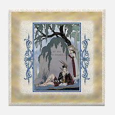 Keepsake-4  April-Love-Barbier Tile Coaster