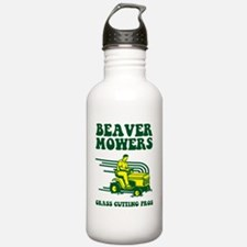 beaver mowers Water Bottle