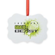 LAXGoalieBeast Ornament