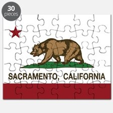 california flag sacramento Puzzle
