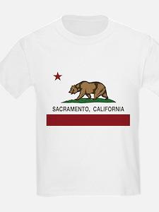 california flag sacramento T-Shirt