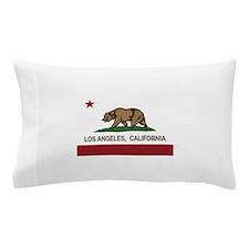 california flag los angeles Pillow Case