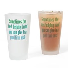 helpinghand_rnd2 Drinking Glass