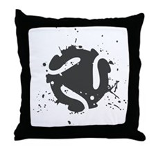 Abstract Splash Throw Pillow