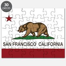 california flag san francisco Puzzle