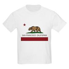 california flag san francisco T-Shirt