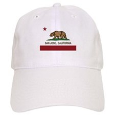california flag san jose Baseball Baseball Cap