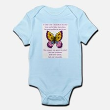A Child Is Like a Butterfly-  Infant Bodysuit