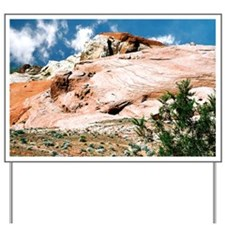 Valley of Fire State Park, Nevada, Postc Yard Sign