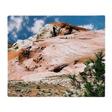 Valley of Fire State Park, Nevada, P Throw Blanket