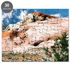 Valley of Fire State Park, Nevada, Postcard Puzzle