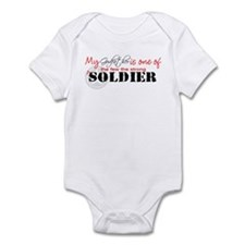 My Godfather is one of the fe Infant Bodysuit