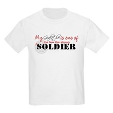 My Godfather is one of the fe Kids T-Shirt