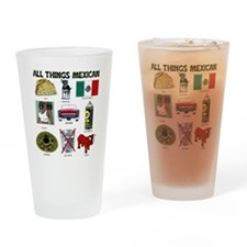 MexicanTrans Drinking Glass
