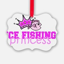 ice fishing princess Ornament