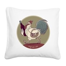 coqauvin Square Canvas Pillow