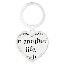 2-see you in another life, brother Heart Keychain