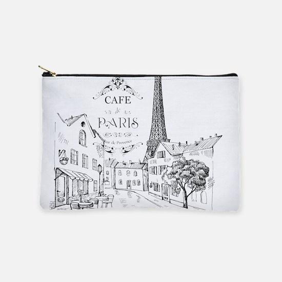 Cafe Paris Makeup Pouch