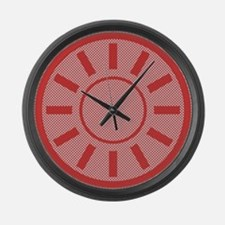 Gingham Style Large Wall Clock