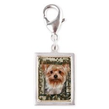 Stone_Paws_Yorkshire_Terrier Silver Portrait Charm