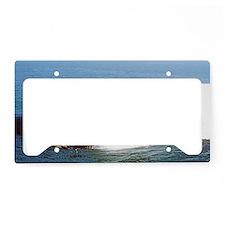 boise large framed print License Plate Holder