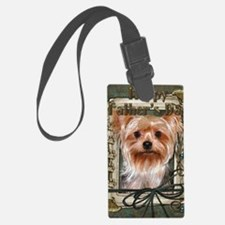 Stone_Paws_Yorkshire_Terrier Luggage Tag