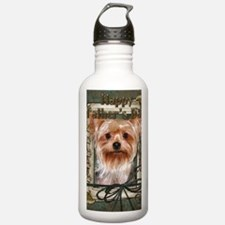 Stone_Paws_Yorkshire_T Water Bottle