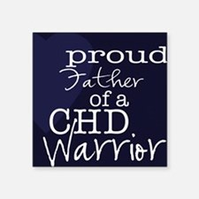 "proud father copy Square Sticker 3"" x 3"""